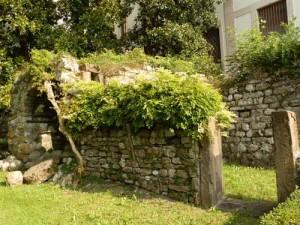 Resti del castello di Belluno